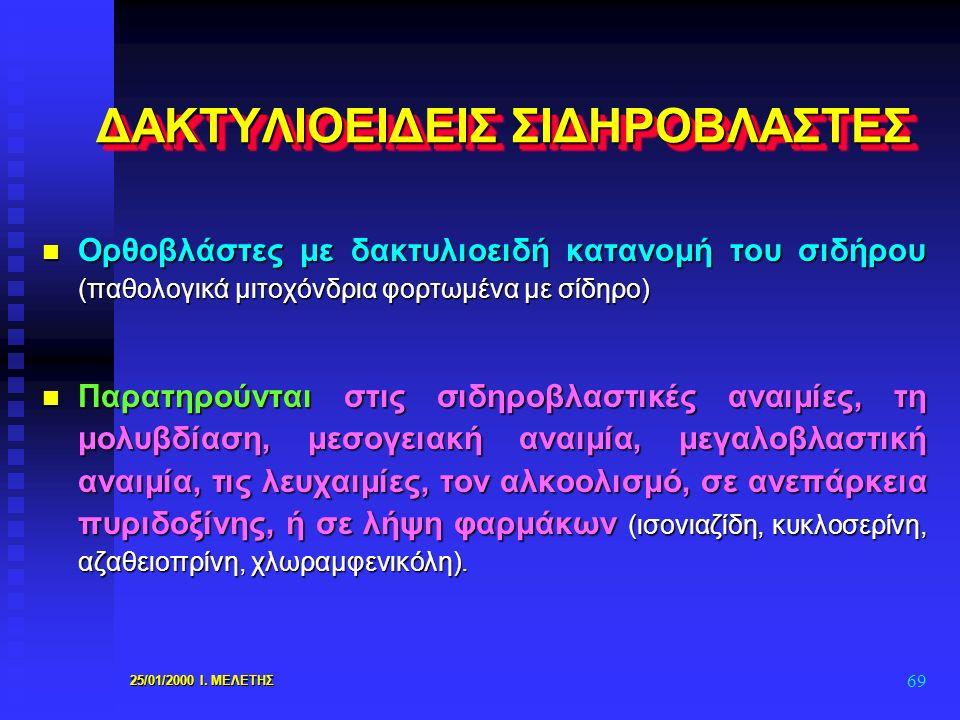 ΔΑΚΤΥΛΙΟΕΙΔΕΙΣ ΣΙΔΗΡΟΒΛΑΣΤΕΣ