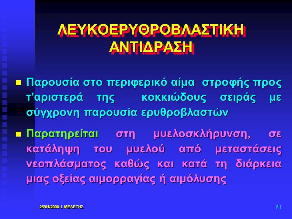 ΛΕΥΚΟΕΡΥΘΡΟΒΛΑΣΤΙΚΗ ΑΝΤΙΔΡΑΣΗ