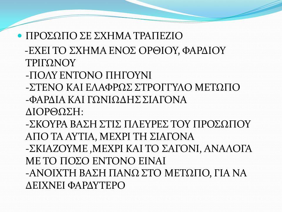 ΠΡΟΣΩΠΟ ΣΕ ΣΧΗΜΑ ΤΡΑΠΕΖΙΟ