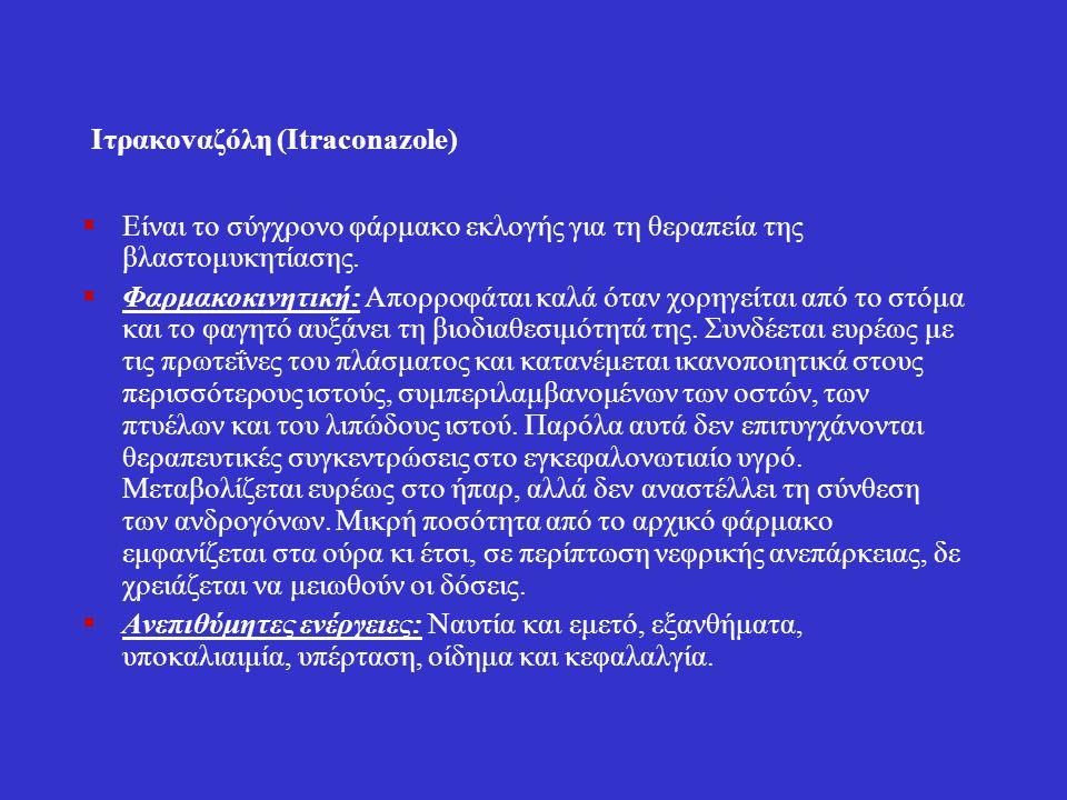 Ιτρακοvαζόλη (Itraconazole)