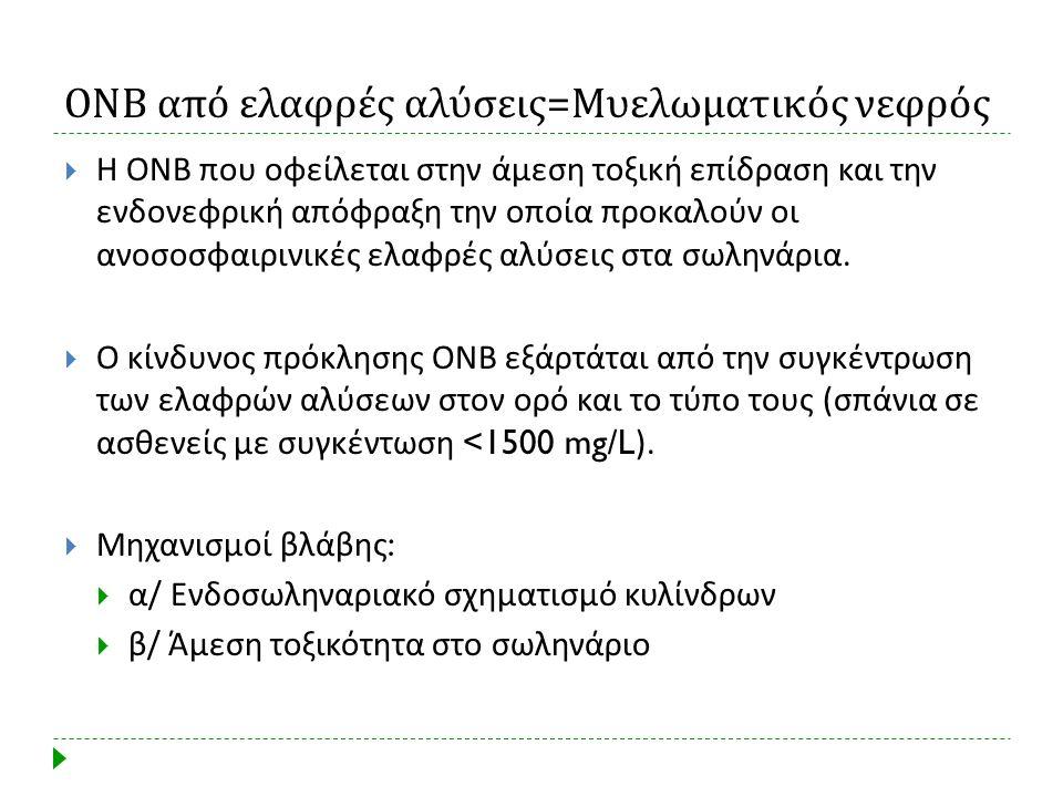 ΟΝΒ από ελαφρές αλύσεις=Μυελωματικός νεφρός