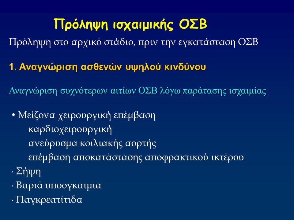 Πρόληψη ισχαιμικής ΟΣΒ