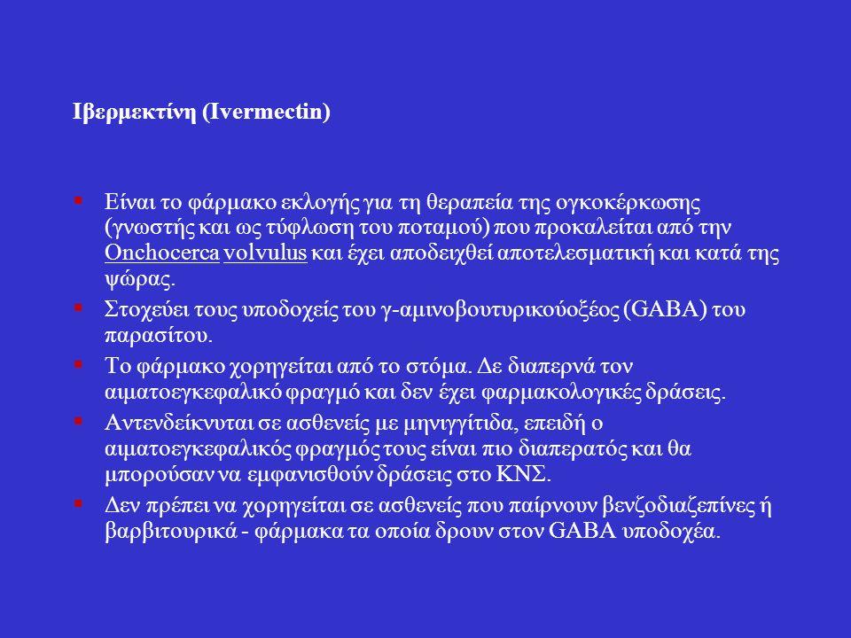 Ιβερμεκτίνη (Ivermectin)