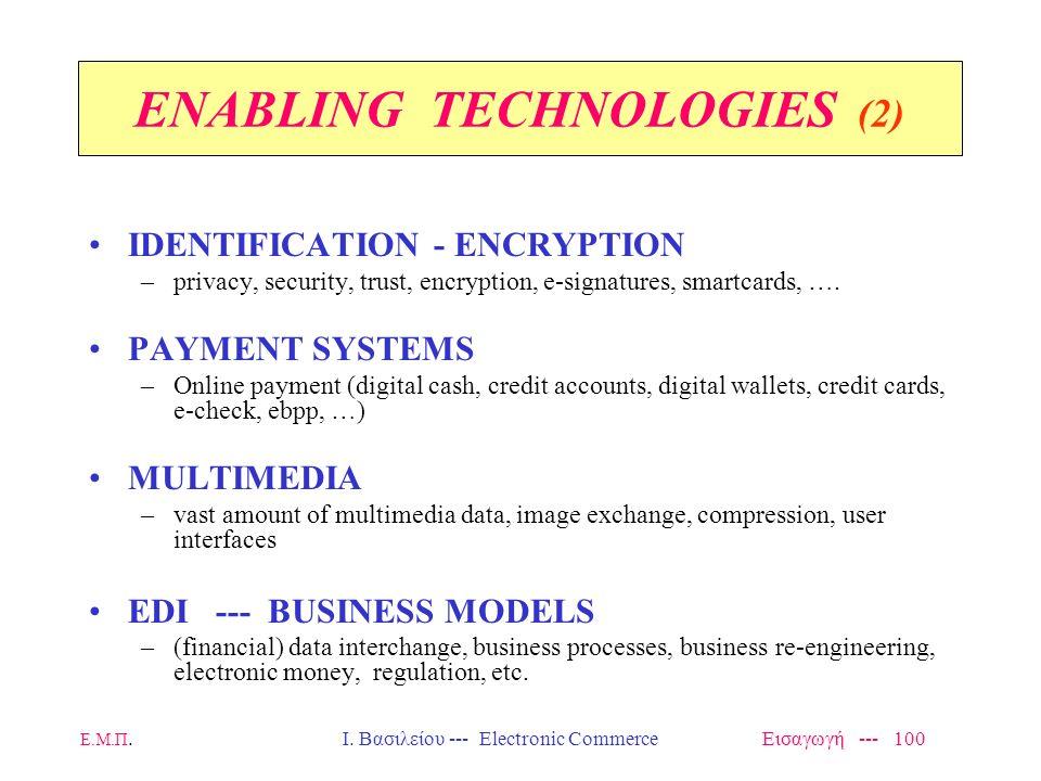ENABLING TECHNOLOGIES (2)
