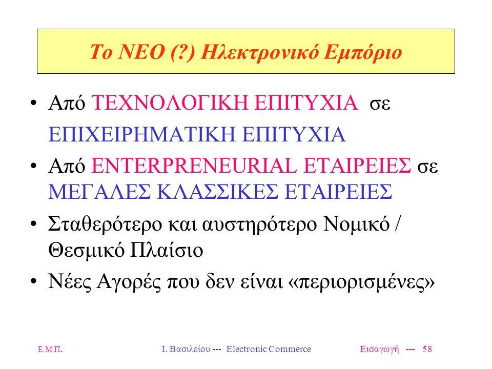To NEO ( ) Ηλεκτρονικό Εμπόριο