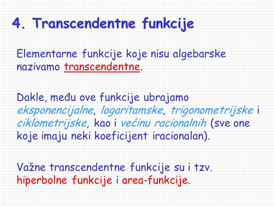 4. Transcendentne funkcije