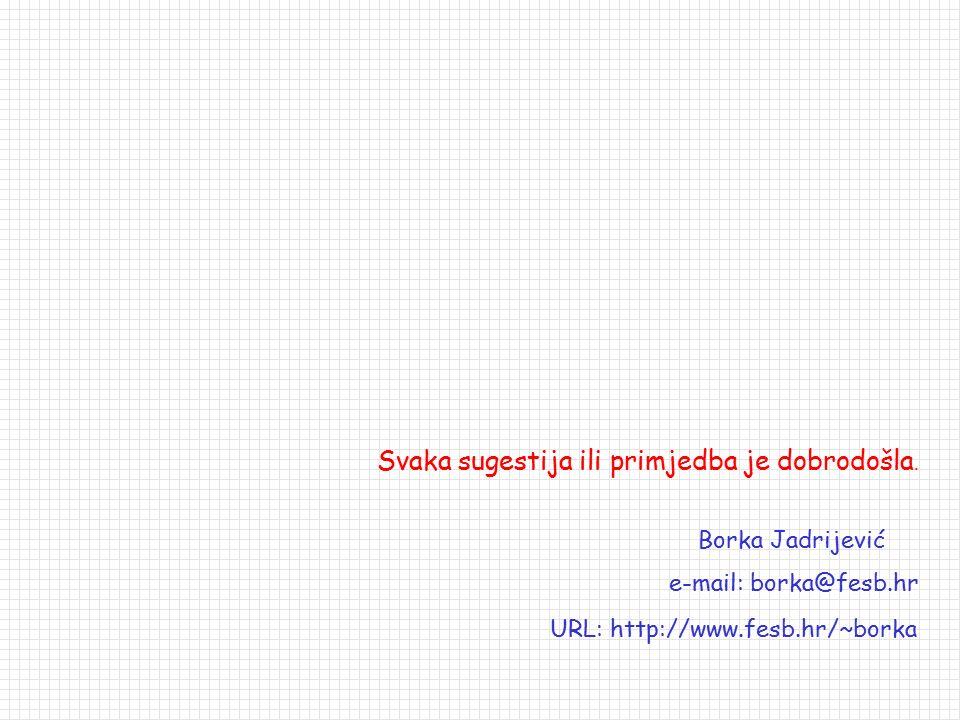 URL: http://www.fesb.hr/~borka