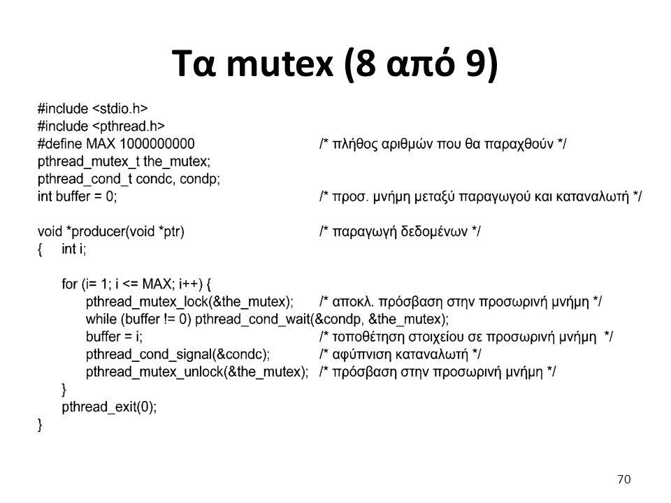 Τα mutex (8 από 9)