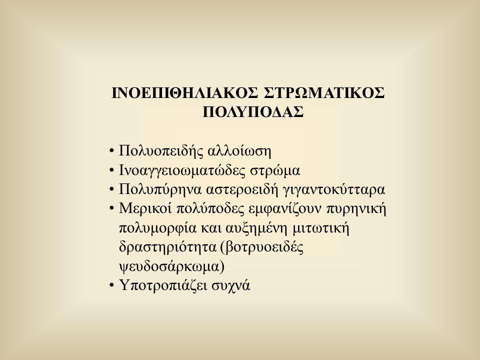 ΙΝΟΕΠΙΘΗΛΙΑΚΟΣ ΣΤΡΩΜΑΤΙΚΟΣ ΠΟΛΥΠΟΔΑΣ