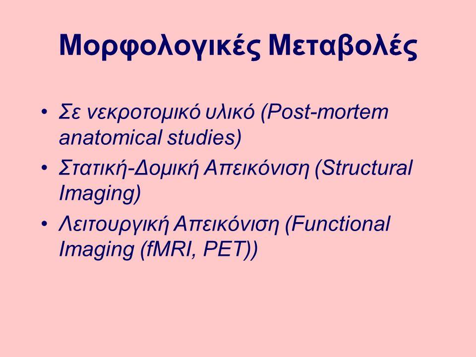 Μορφολογικές Μεταβολές