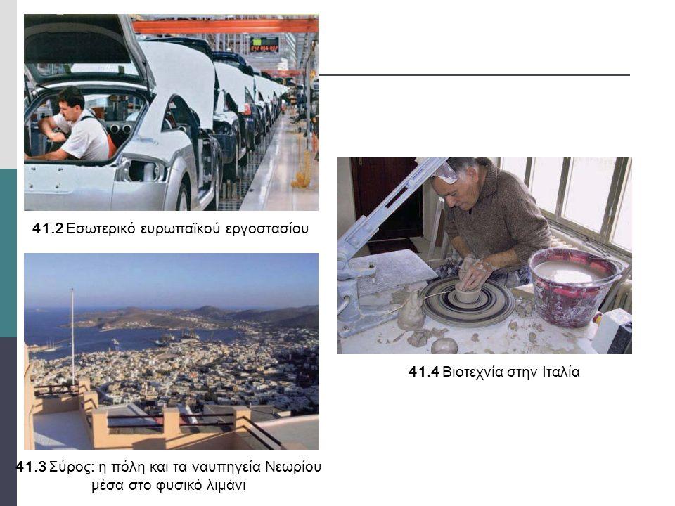 41.2 Εσωτερικό ευρωπαϊκού εργοστασίου