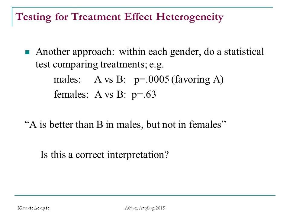 Testing for Treatment Effect Heterogeneity