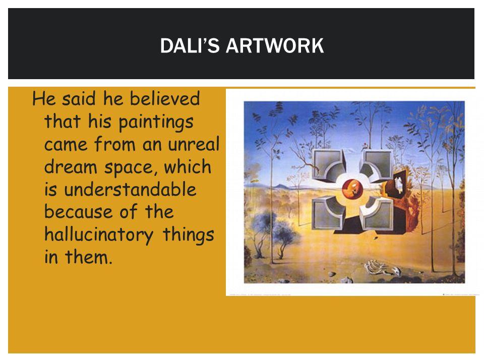 DALI'S ARTWORK