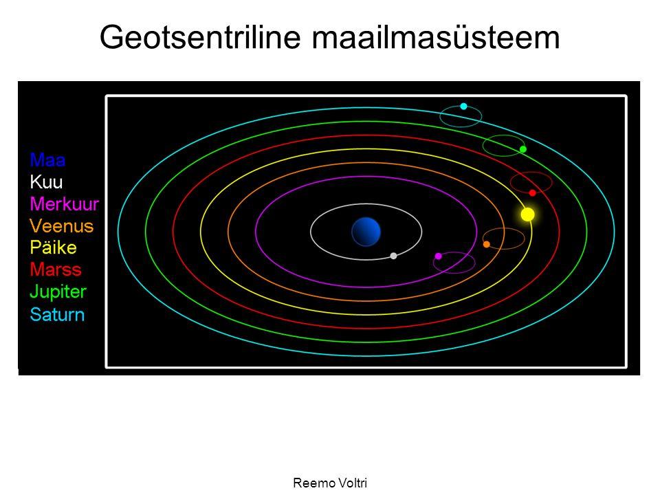 Geotsentriline maailmasüsteem