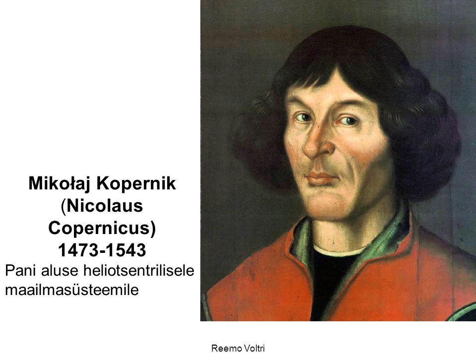 (Nicolaus Copernicus)