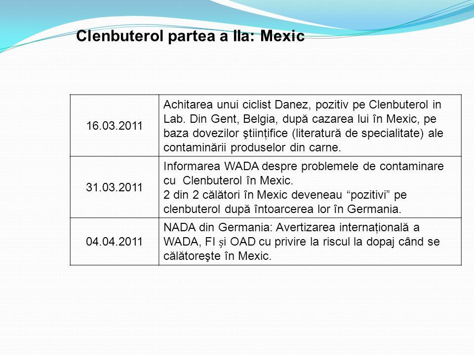 Clenbuterol partea a IIa: Mexic