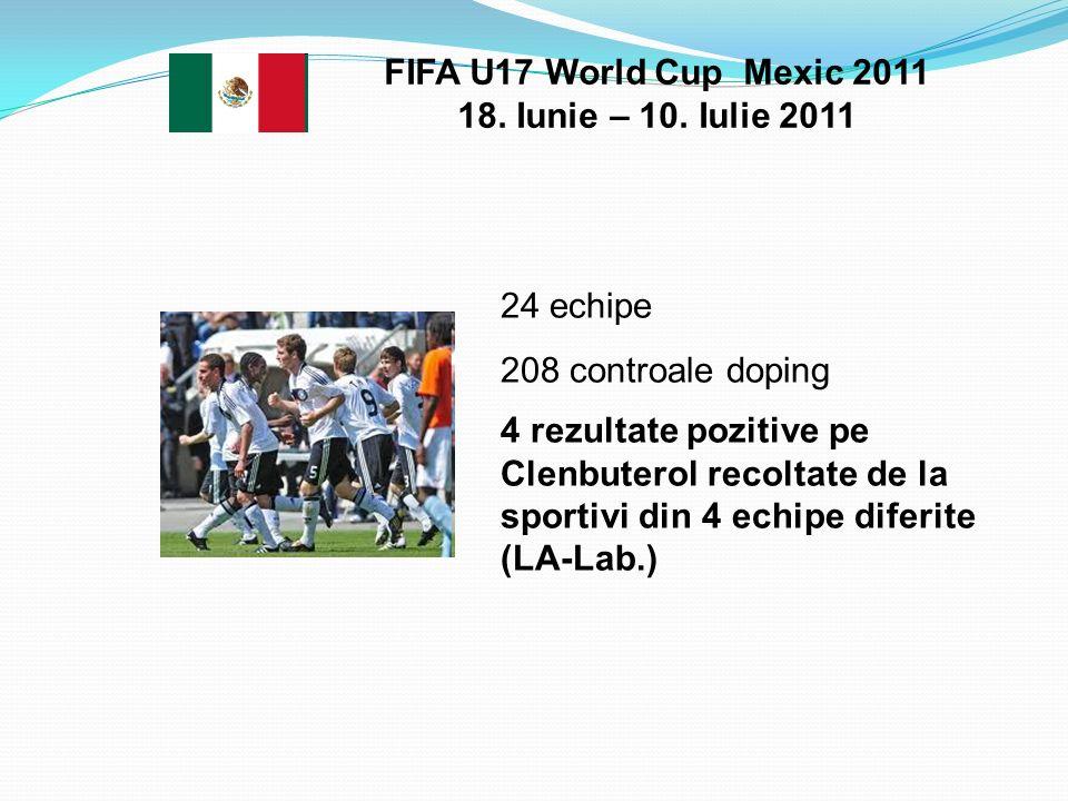 FIFA U17 World Cup Mexic 2011 18. Iunie – 10. Iulie 2011
