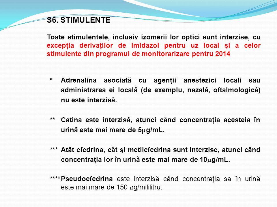 S6. STIMULENTE