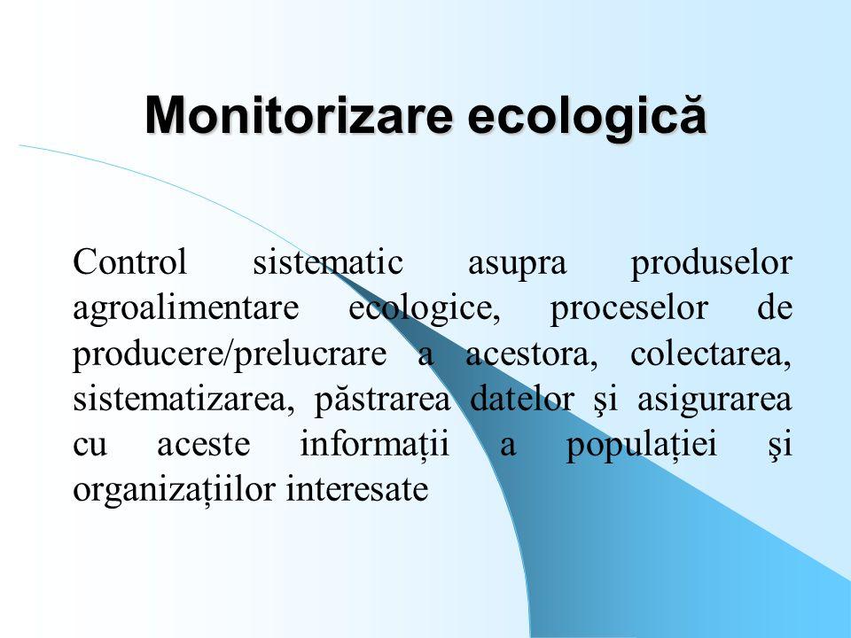 Monitorizare ecologică