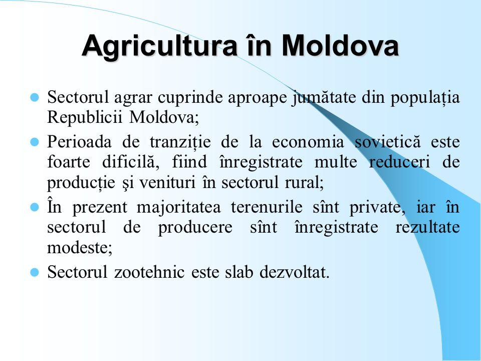 Agricultura în Moldova