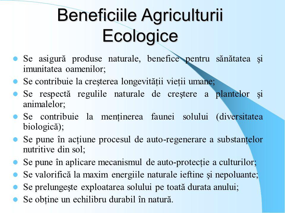 Beneficiile Agriculturii Ecologice