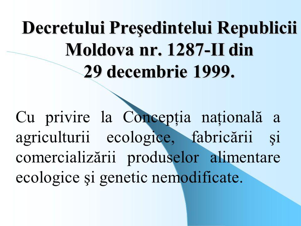 Decretului Preşedintelui Republicii Moldova nr