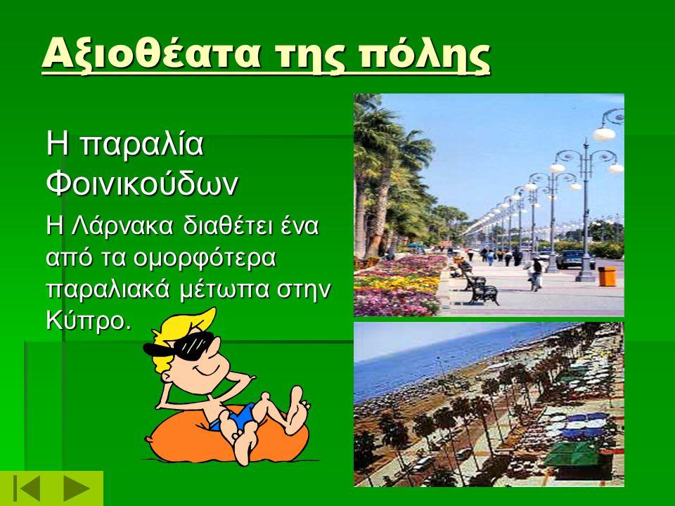 Αξιοθέατα της πόλης Η παραλία Φοινικούδων