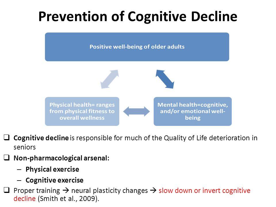 Prevention of Cognitive Decline