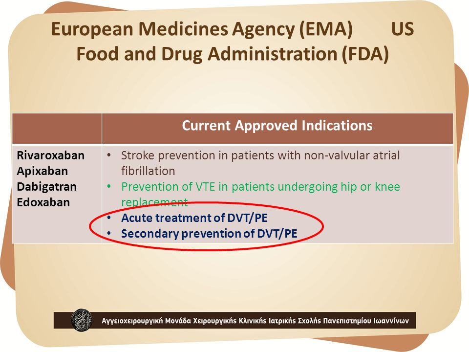 European Medicines Agency (EMA) US Food and Drug Administration (FDA)