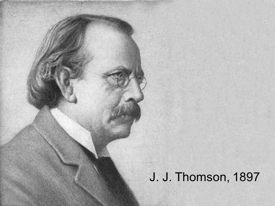 J. J. Thomson, 1897