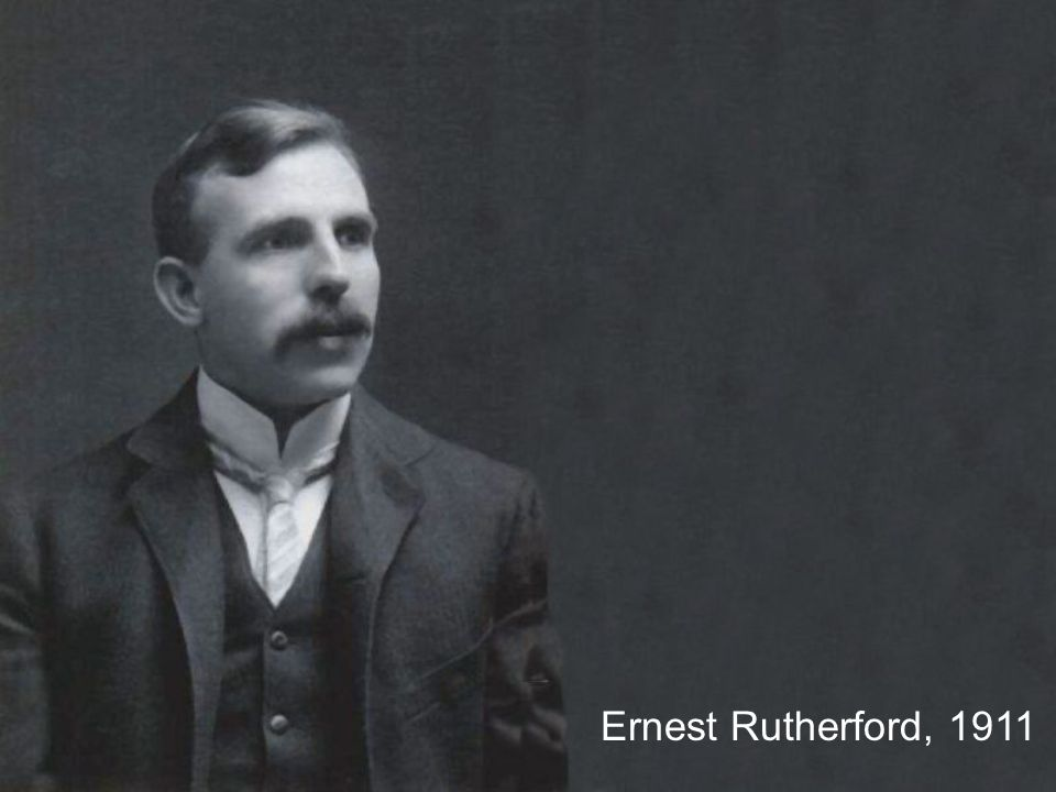 Ernest Rutherford, 1911