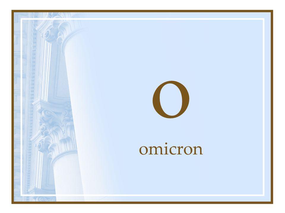 o omicron