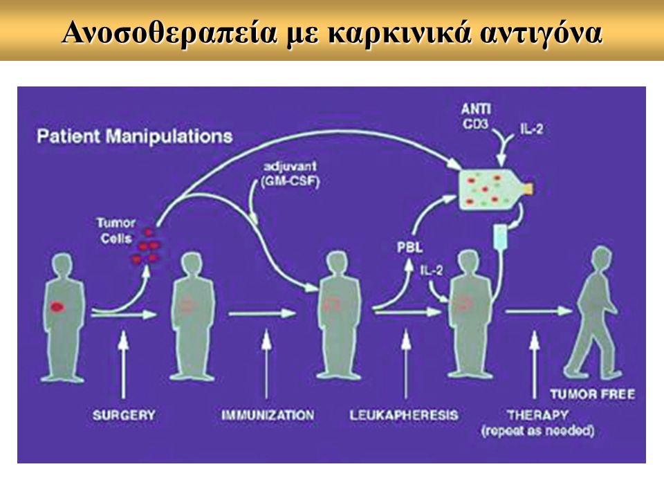 Ανοσοθεραπεία με καρκινικά αντιγόνα