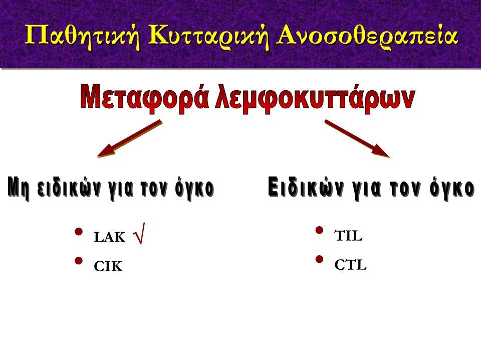 Παθητική Κυτταρική Ανοσοθεραπεία