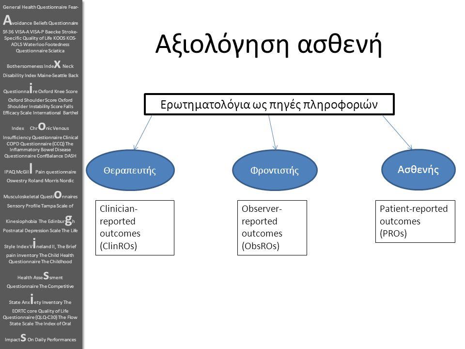 Ερωτηματολόγια ως πηγές πληροφοριών