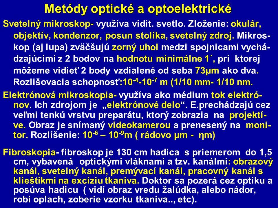 Metódy optické a optoelektrické