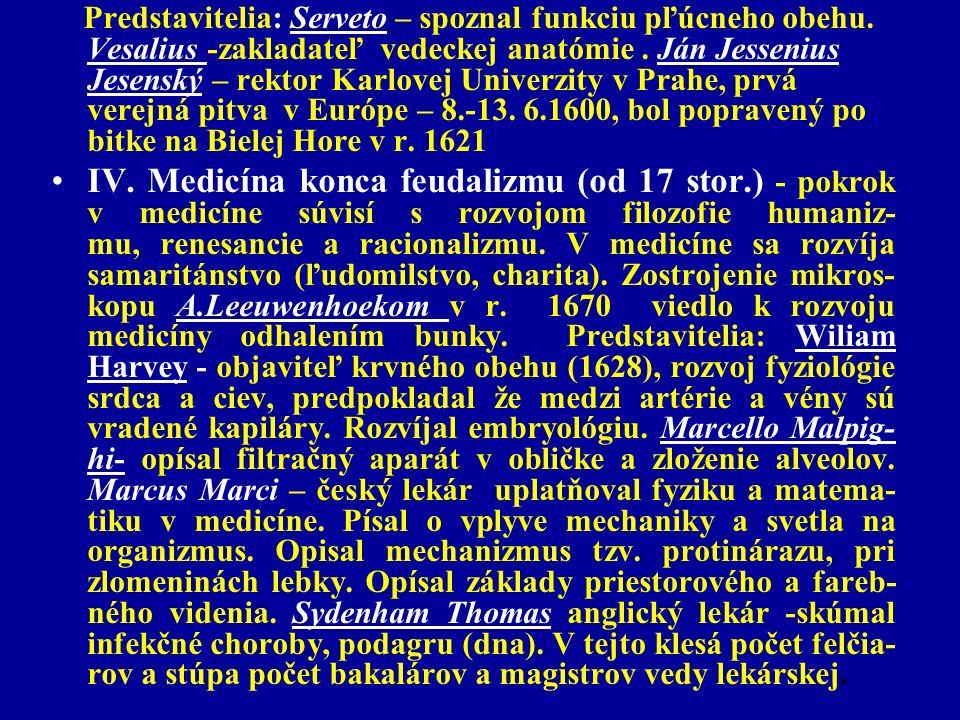 Predstavitelia: Serveto – spoznal funkciu pľúcneho obehu