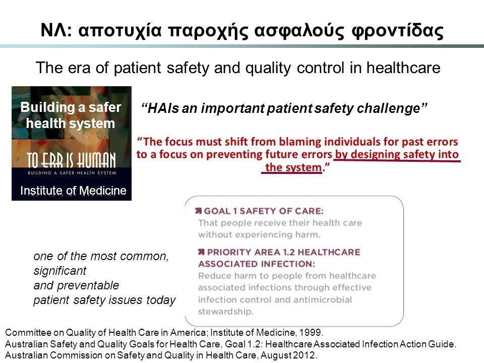 ΝΛ: αποτυχία παροχής ασφαλούς φροντίδας