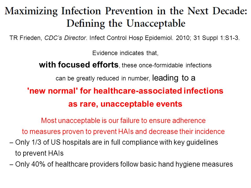 with focused efforts, these once‐formidable infections