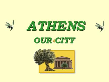 OUR CITY ATHENS GODS IN THE MYTH ATHENA ( Latin- Minerva ): The goddess of wisdom and strategy! She helped many heroes in mythology in her own way. Athena.