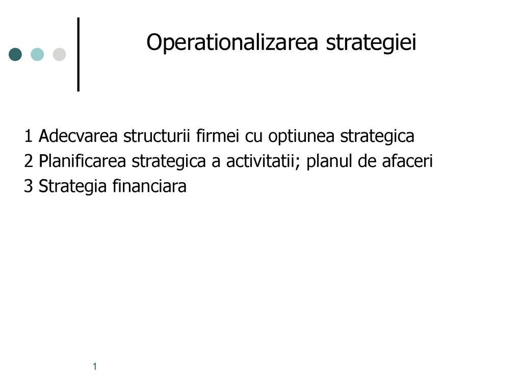 strategii pentru opțiunea scară)