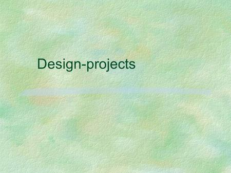 Design-projects.