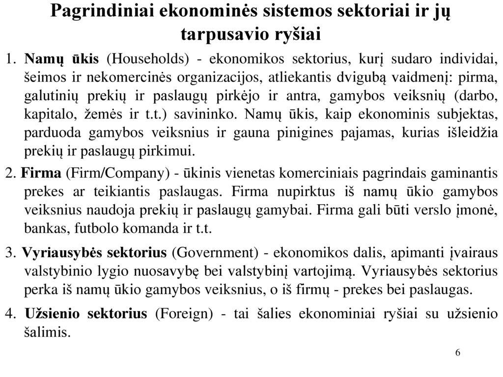 rinkos ekonomika - Visuotinė lietuvių enciklopedija