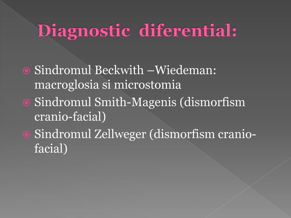 Diagnostic diferential: