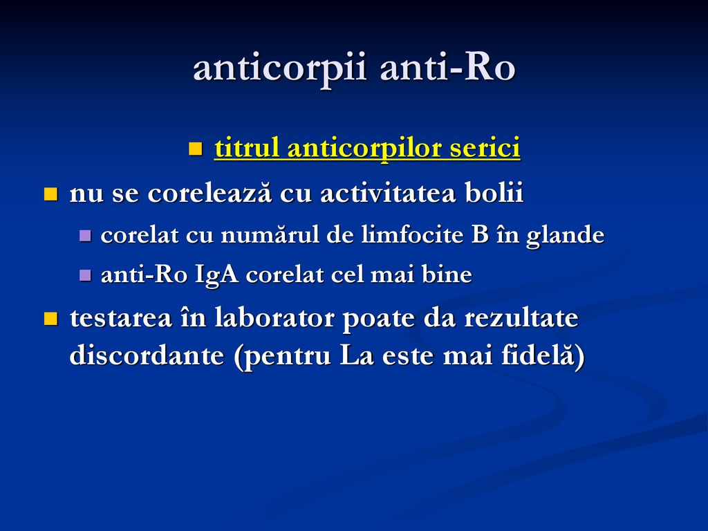titrul anticorpilor serici