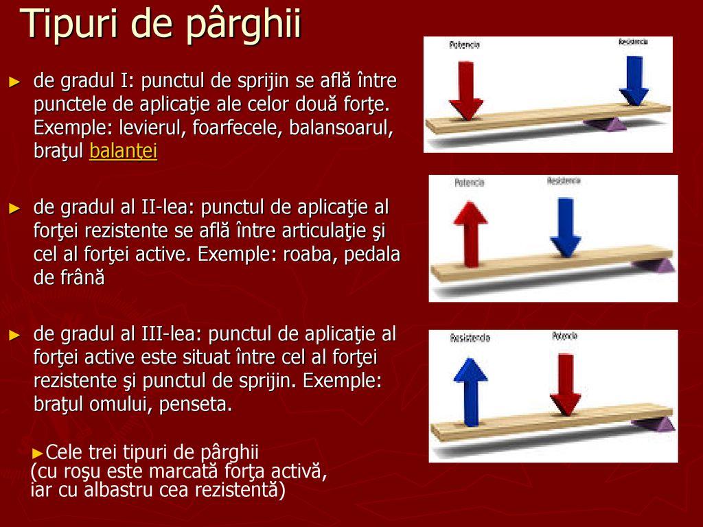 4 exemple de parghii)
