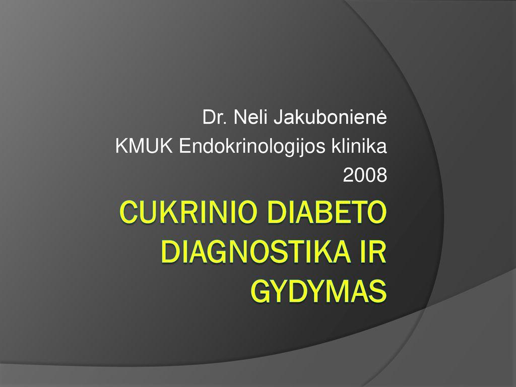 tarptautinis diabeto hipertenzijos gydymo protokolas)
