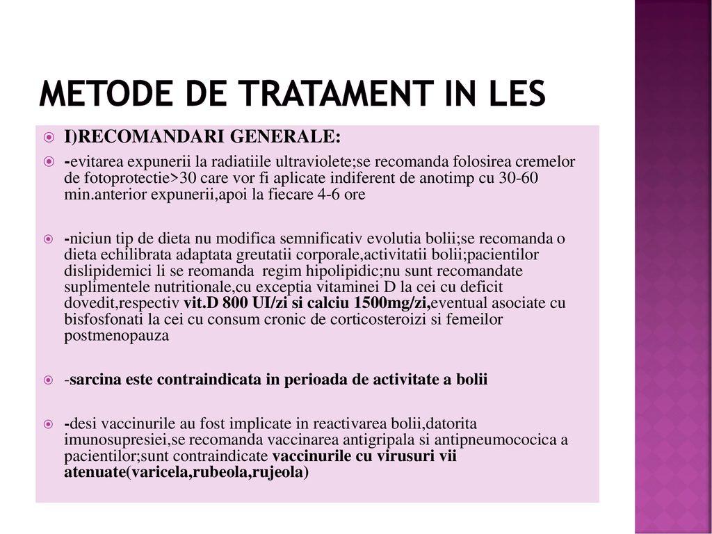 tratament comun pentru LES ce este artroza gradului 3 al articulației genunchiului