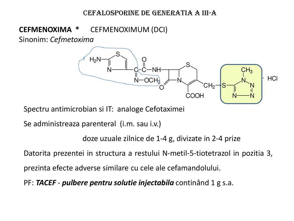 cefalosporine pentru tratamentul articular cum se tratează cartilajul și articulațiile