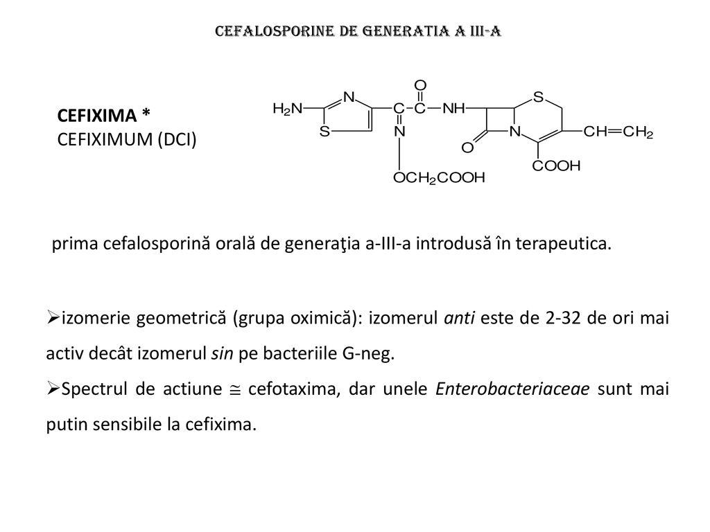 cefalosporine pentru tratamentul articular medicamente pentru tratamentul osteochondrozei coloanei vertebrale toracice
